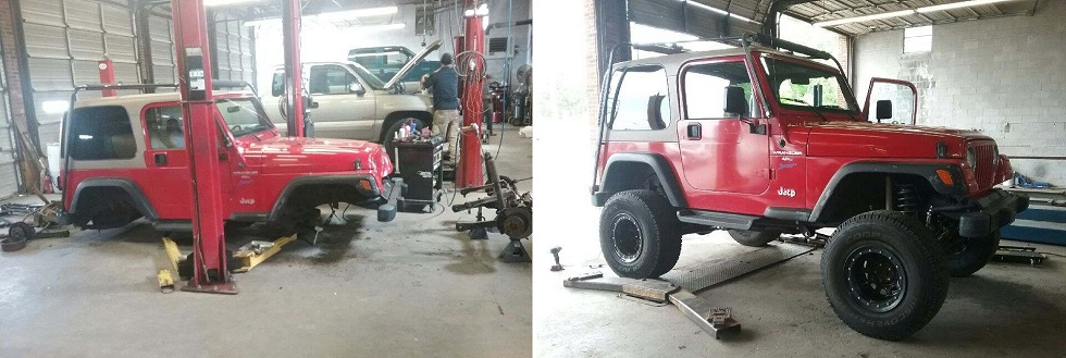 Jeep Lift Kit Installation Reidsville, NC